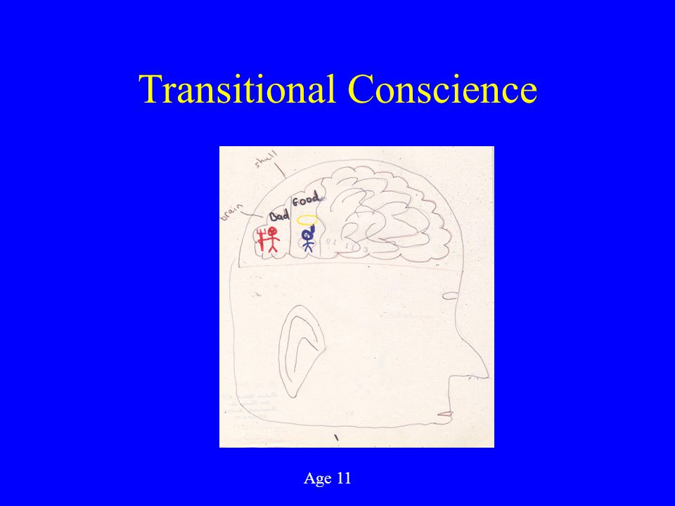 Transitional Conscience Age 11