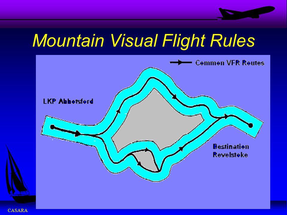 CASARA Mountain Visual Flight Rules
