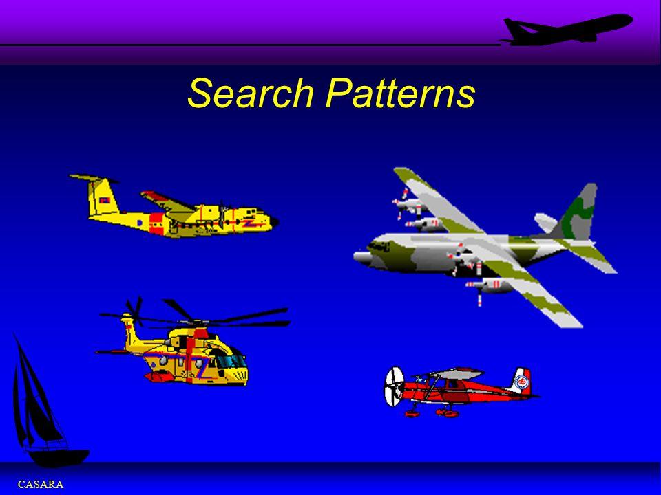 CASARA Search Patterns
