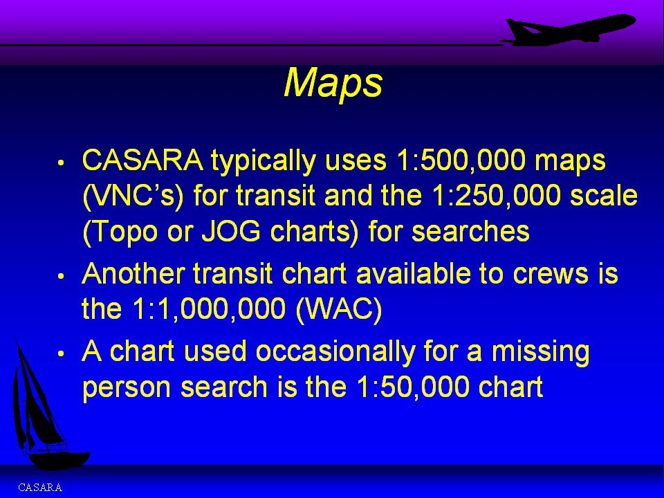 CASARA Search Patterns Expanding Square you need LKP, altitude to be flown and visibility distance fly lines at right angles to each other with a track spacing of two vis distances, increasing by twice the visibility assess the drift and apply correction before the search starts fly the cardinal headings