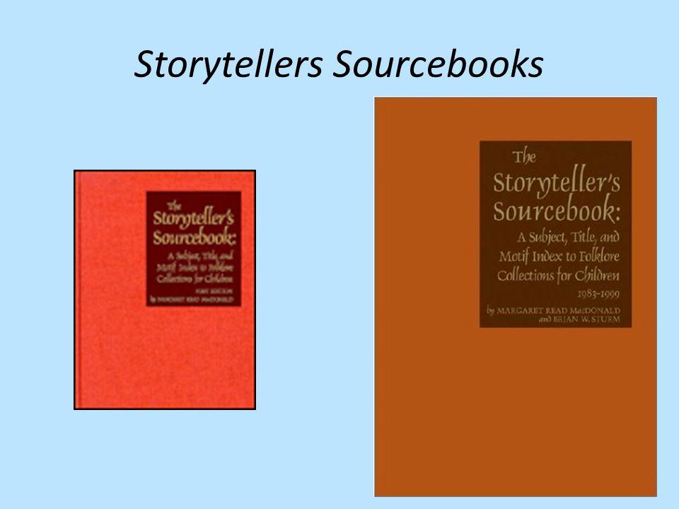 Storytellers Sourcebooks