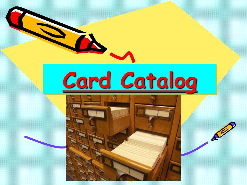 Author Card