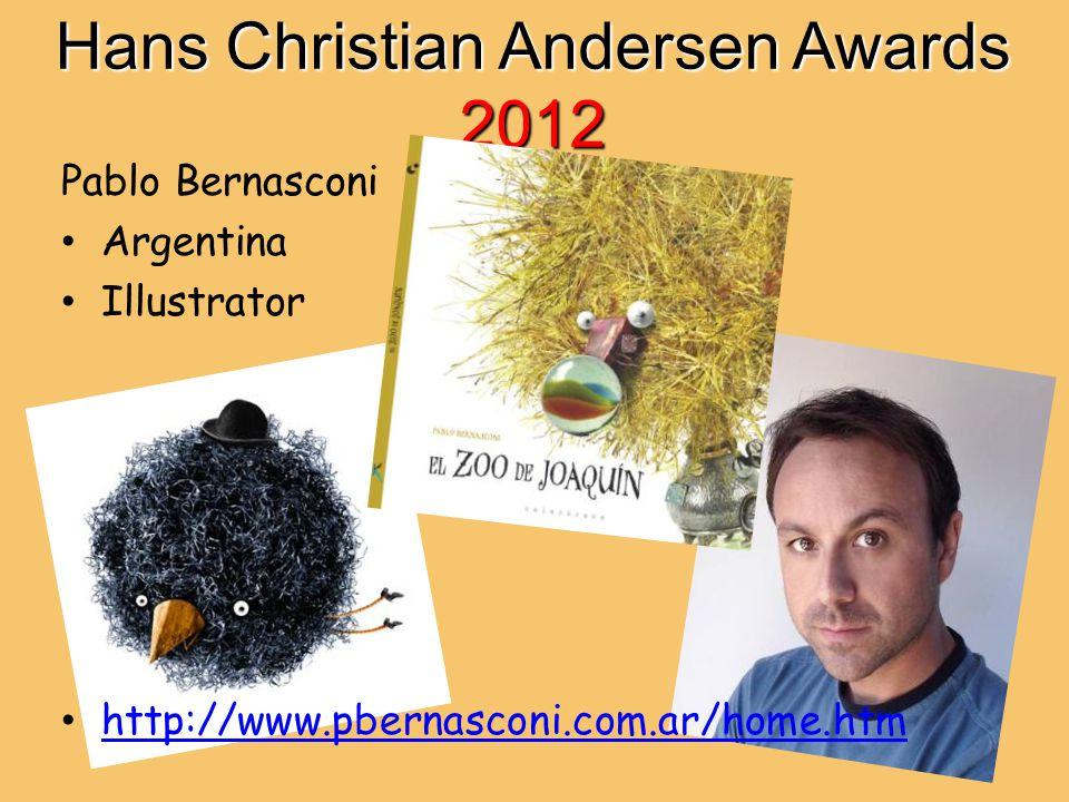 Hans Christian Andersen Awards 2012 Pablo Bernasconi Argentina Illustrator http://www.pbernasconi.com.ar/home.htm