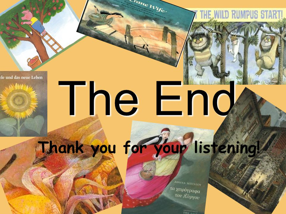The End Thank you for your listening!