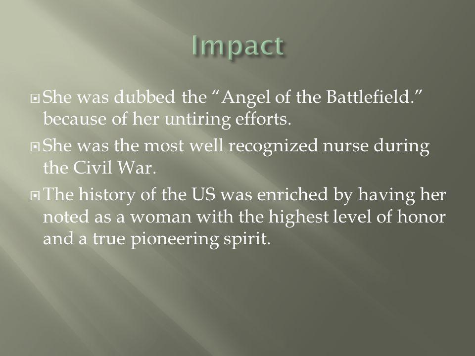  LaFantasie, G.W. (2005). CLARA BARTON. America s Civil War, 18(2), 34.