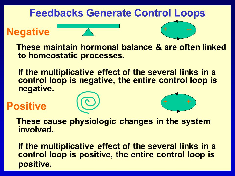 What are feedback systems.