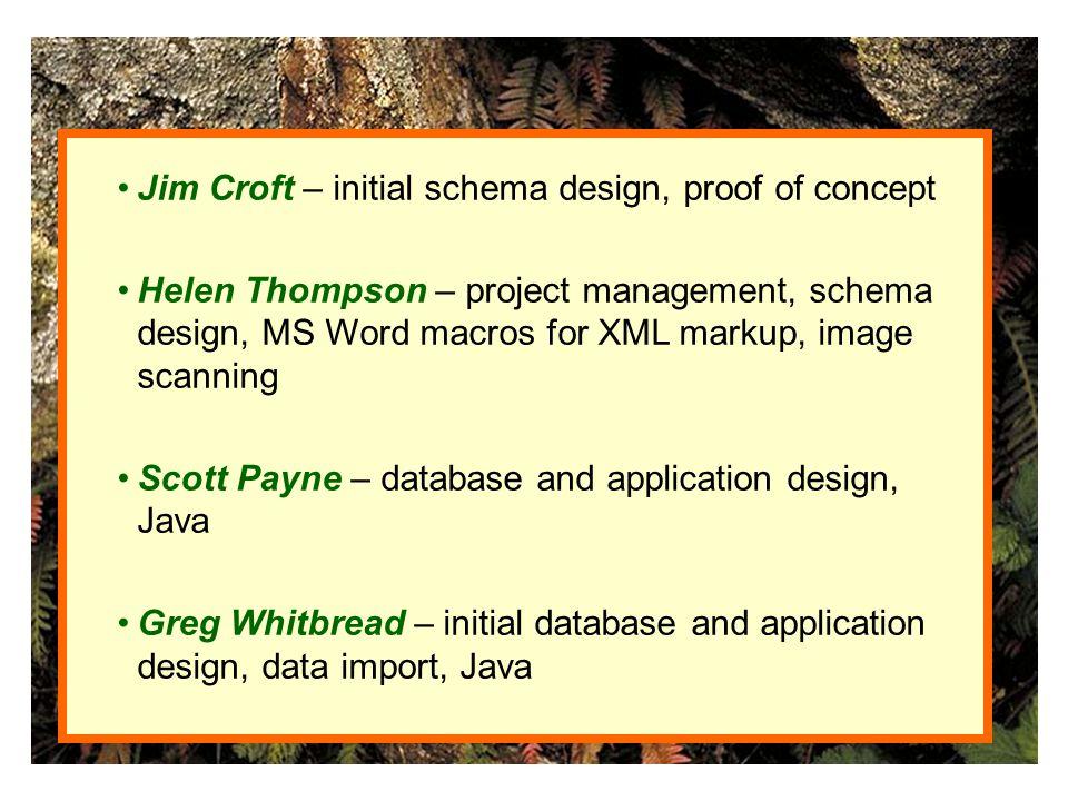 Fl. Australia database structure