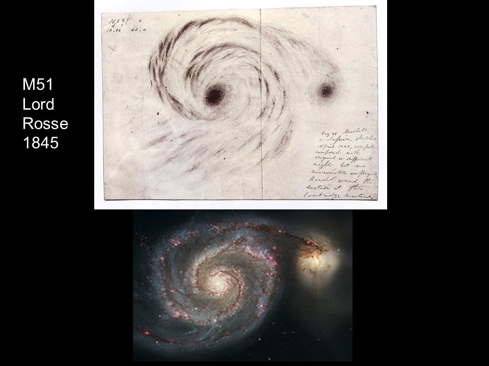 M51 Lord Rosse 1845