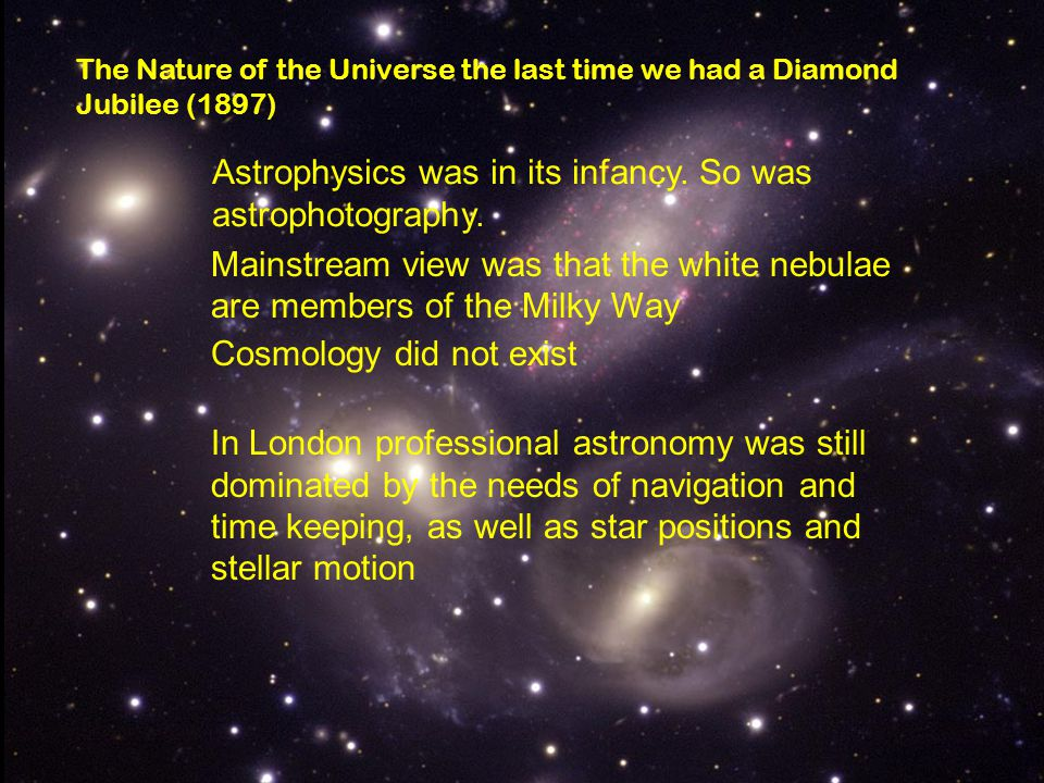 Astrophysics was in its infancy. So was astrophotography.