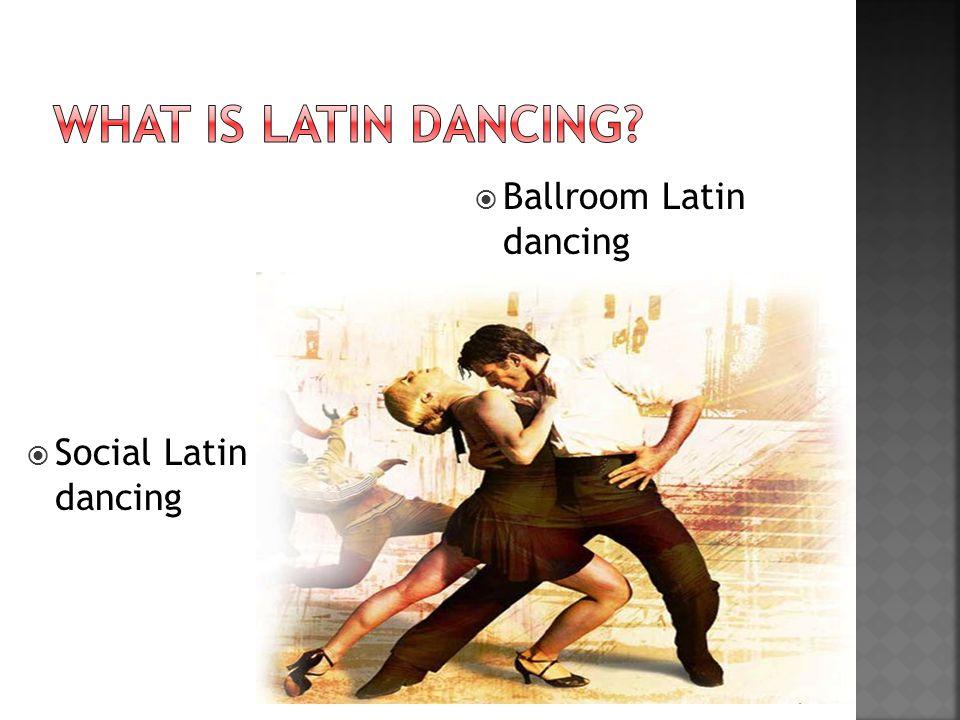  Social Latin dancing  Ballroom Latin dancing