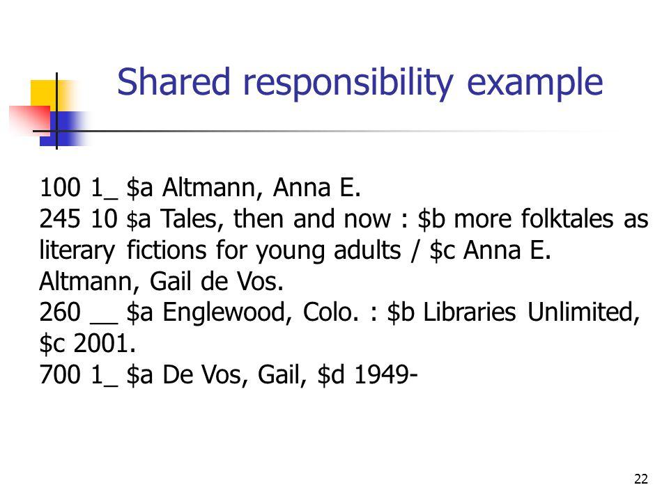 22 100 1_ $a Altmann, Anna E.