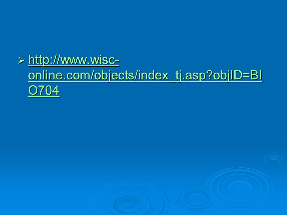  http://www.wisc- online.com/objects/index_tj.asp?objID=BI O704 http://www.wisc- online.com/objects/index_tj.asp?objID=BI O704 http://www.wisc- onlin