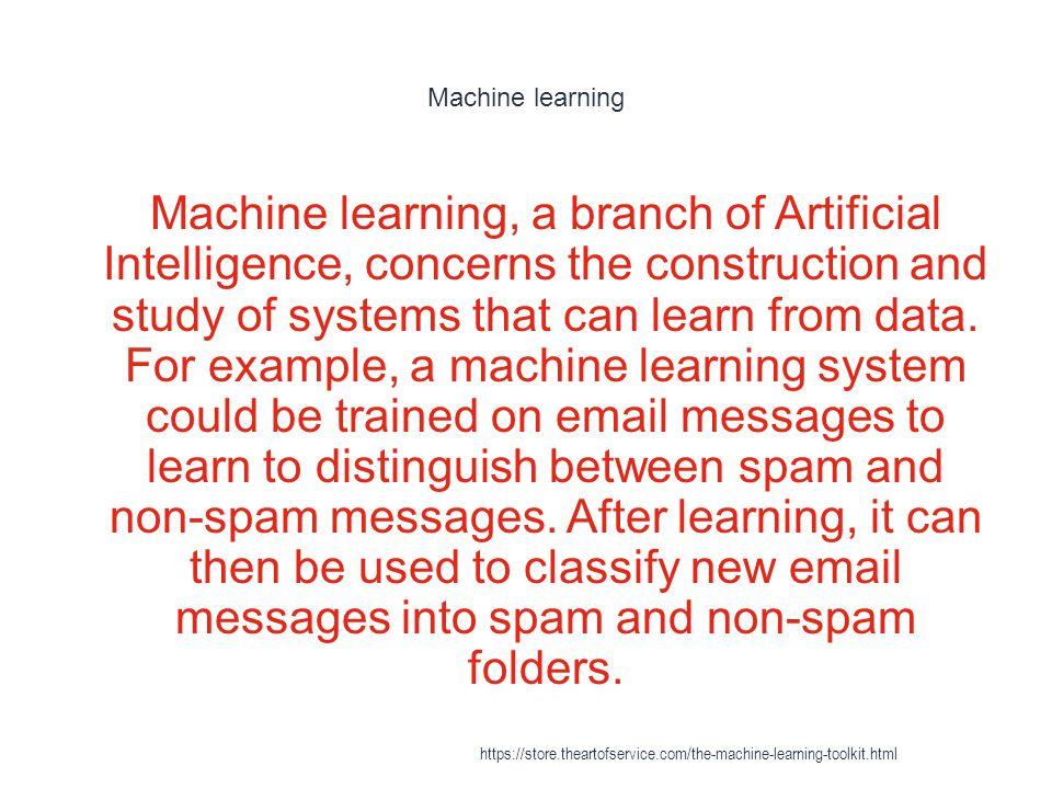 Machine learning - Further reading 1 Huang T.-M., Kecman V., Kopriva I.