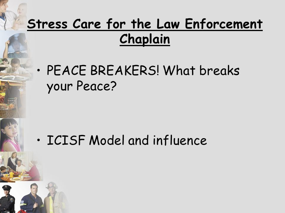 The Activity of the Chaplain will Test – Your Moral Fiber Your Faith Your Conduct Your Character Your Integrity Illustrate – let me see this Taser!!!!