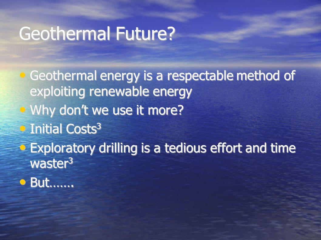 Geothermal Future.