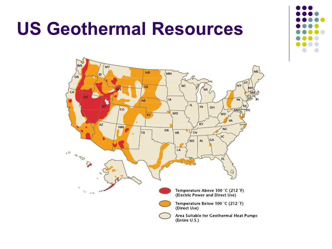 US Geothermal Resources