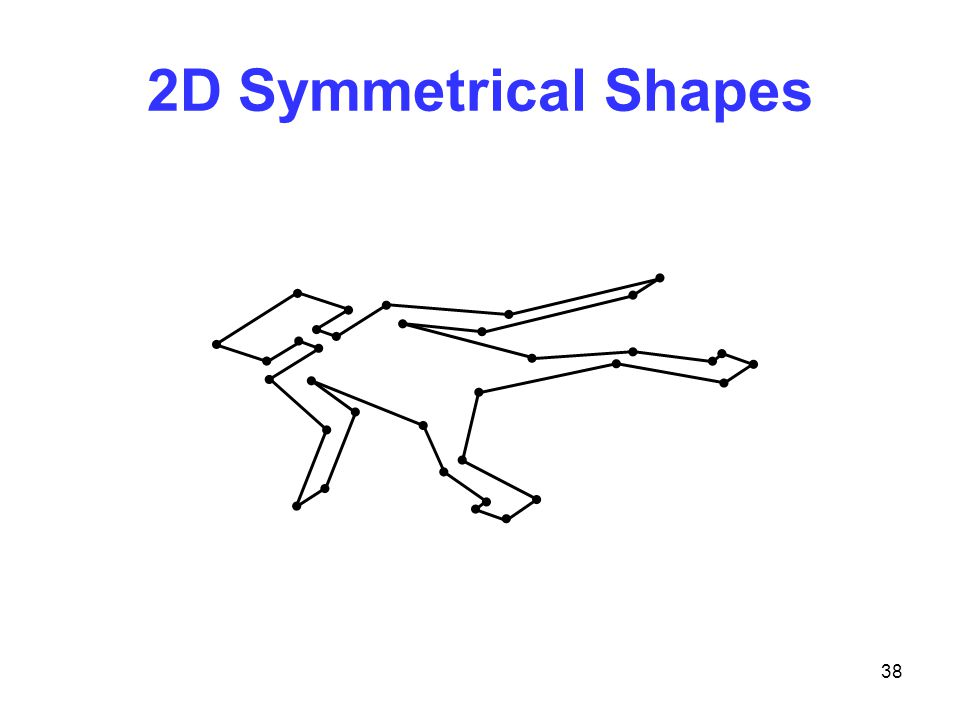 38 2D Symmetrical Shapes