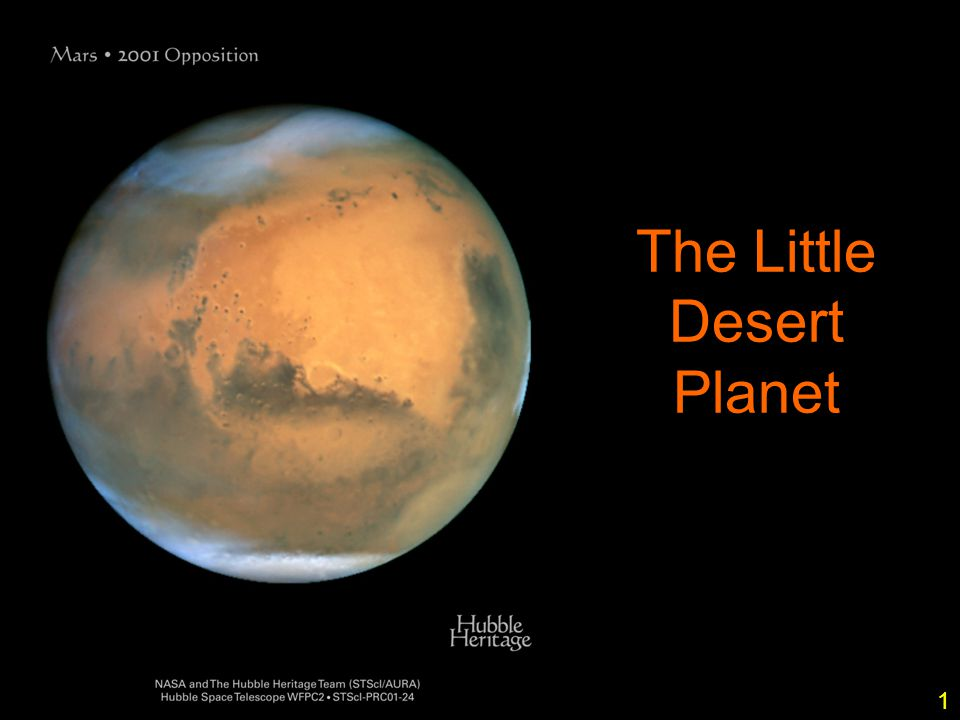 1 The Little Desert Planet 1