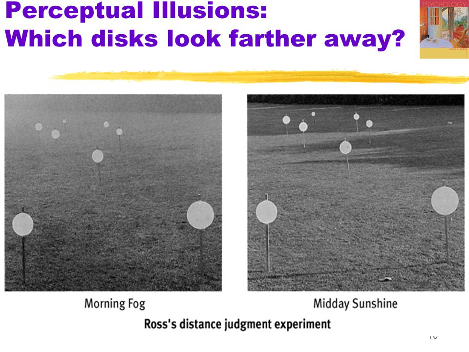 10 Perceptual Illusions: Which disks look farther away?