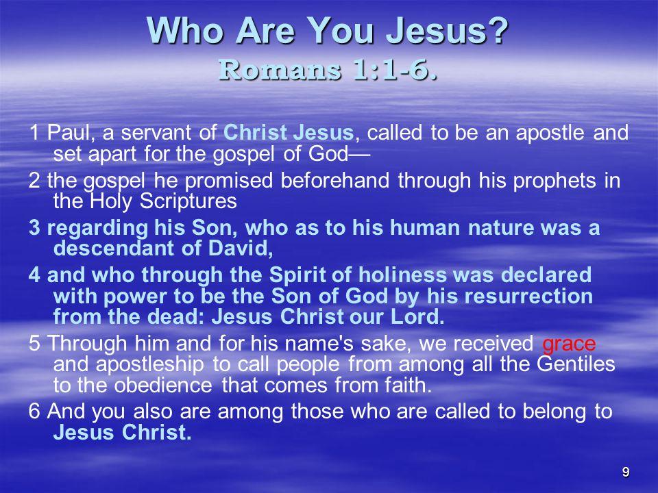 40 JESUS FOCUSED… GRACE ORIENTED… LOVE MOTIVATED.