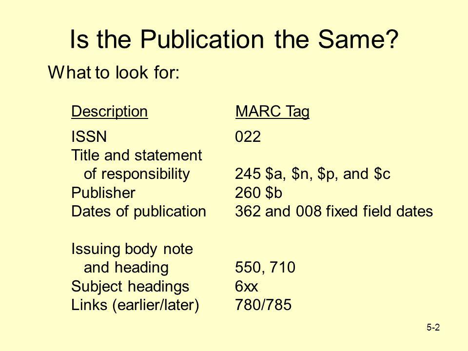 5-23 Microform Record 1: (pre-AACR2) Type a Elvl I Srce d Gpub Ctrl Lang eng BLvl s Form a Conf 0 Freq m Mrec Ctry nyu S/L 1 Orig EntW Regl r Alph Desc SrTp p Cont DtSt c Dates 1876,9999 245 00 $a Library journal.