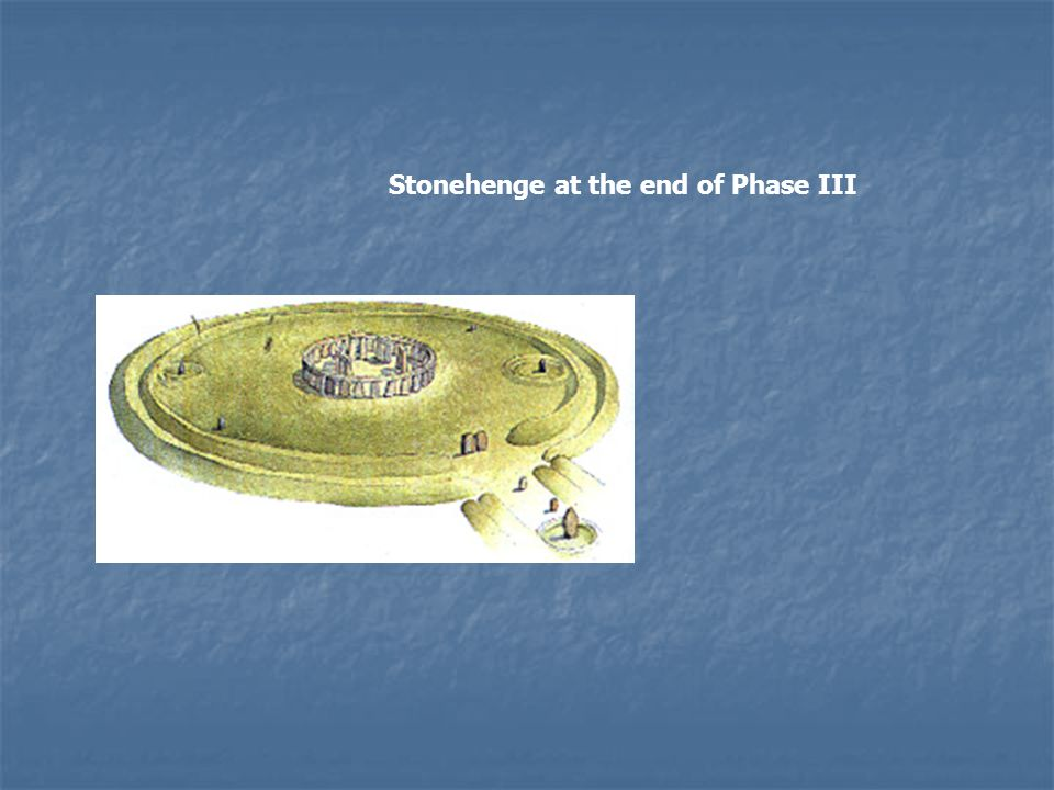 Sub-phase 3vi In the final sub-phase (3vi), two circles, one inside the other, known as the Y and Z Holes were dug for the placement of stones but were never filled.