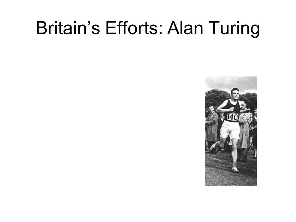 Britain's Efforts: Alan Turing