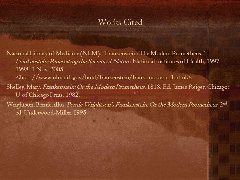 Works Cited National Library of Medicine (NLM).