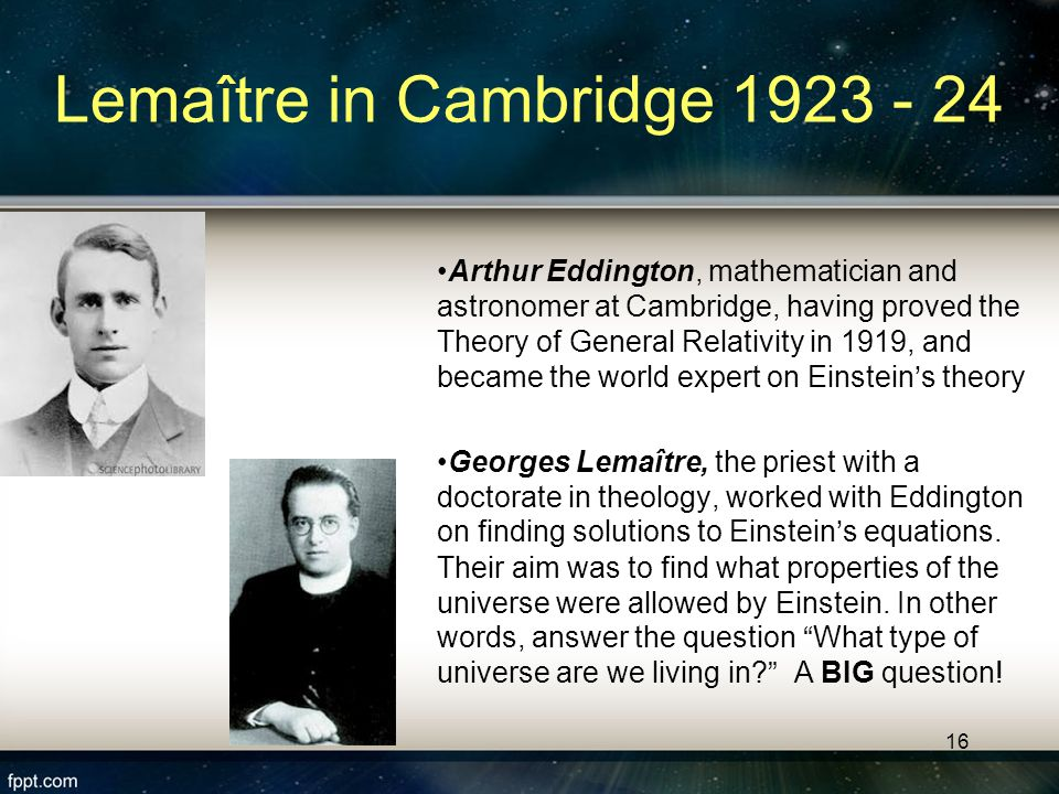 15 The Static Universe Model One hundred years ago, astronomers thought: The universe was unchanging through time.