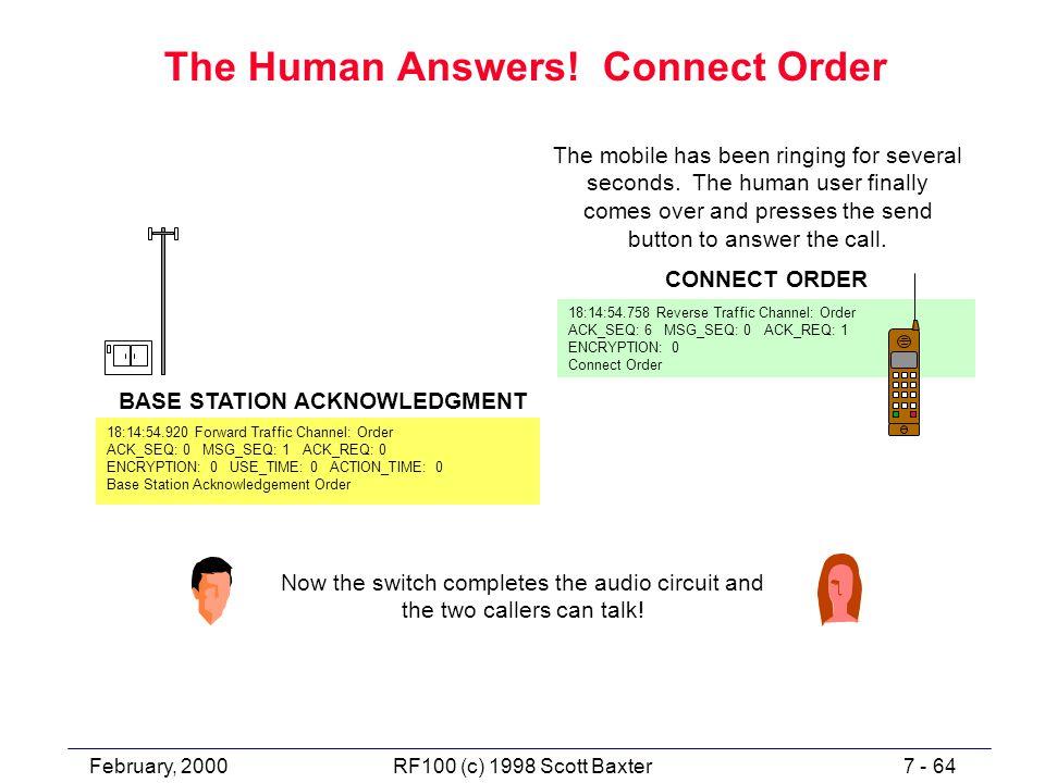 February, 20007 - 64RF100 (c) 1998 Scott Baxter The Human Answers.