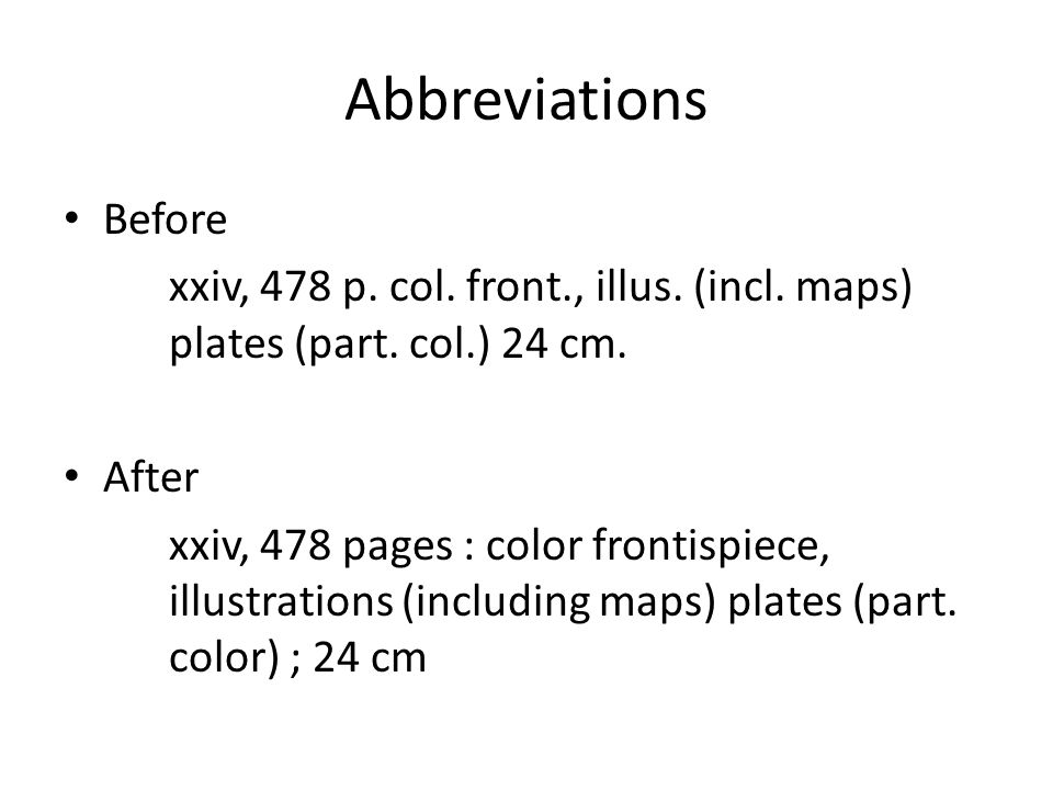 Abbreviations Before xxiv, 478 p. col. front., illus.