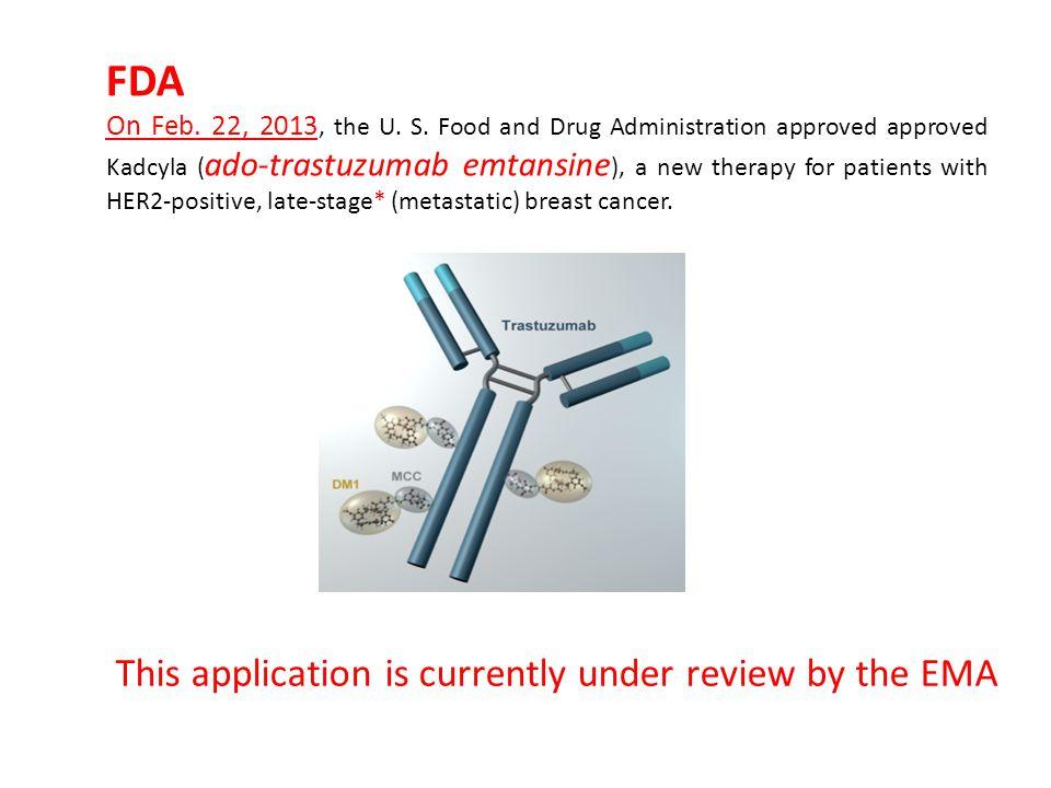 FDA On Feb. 22, 2013, the U. S.