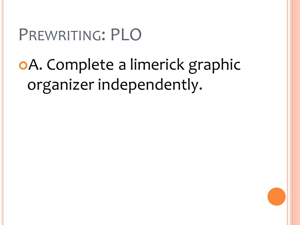 REFERENCE Livingston, M.C.(1991). Lots of Limericks.