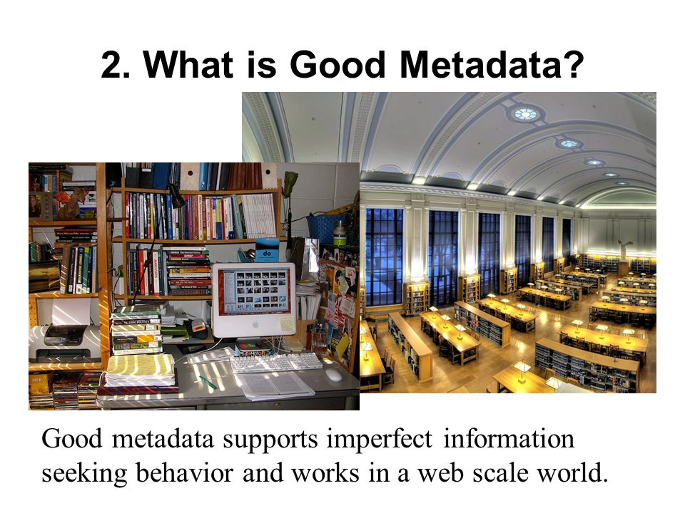 5. Creating Metadata Online Edit your preferences