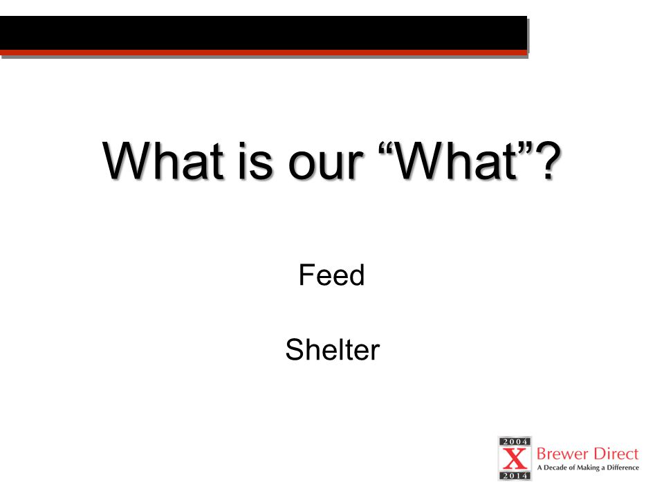 Feed Shelter