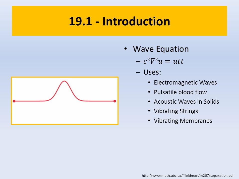 19.1 - Introduction http://www.math.ubc.ca/~feldman/m267/separation.pdf