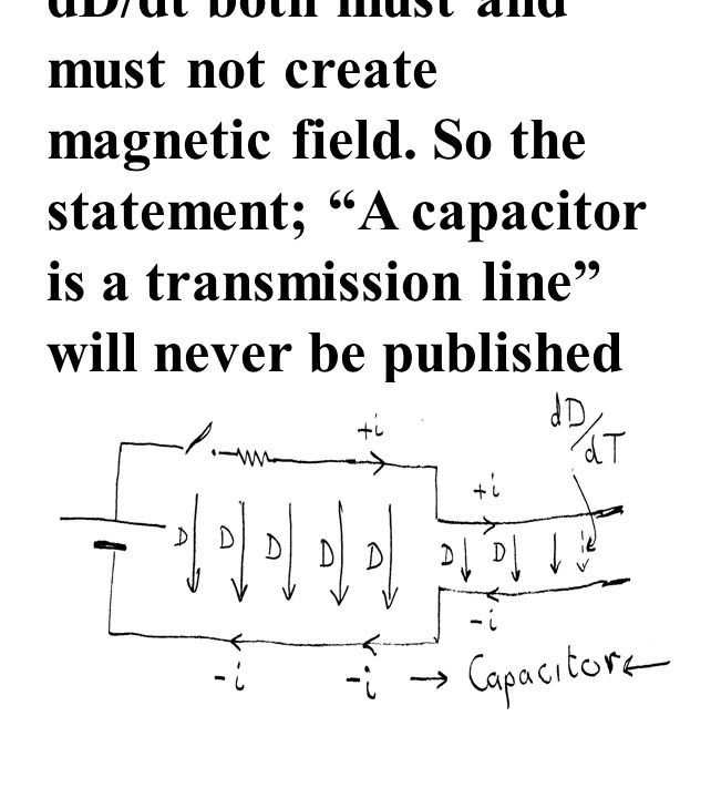 dD/dt both must and must not create magnetic field.