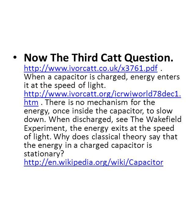 Now The Third Catt Question. http://www.ivorcatt.co.uk/x3761.pdf.