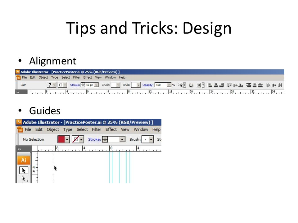 Tips and Tricks: Design Alignment Guides