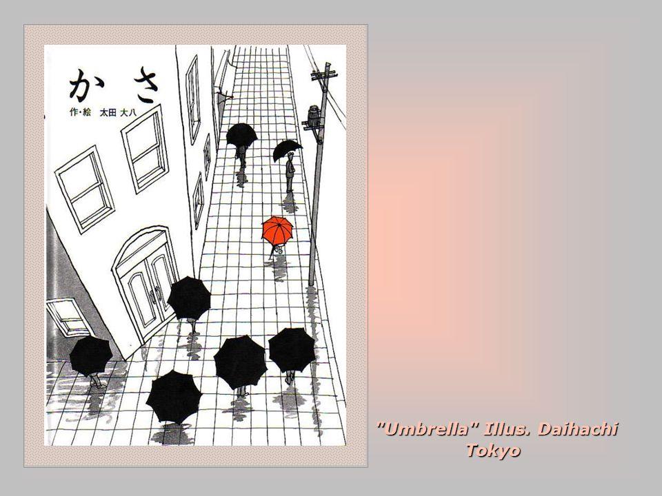 Umbrella Illus. Daihachi Tokyo