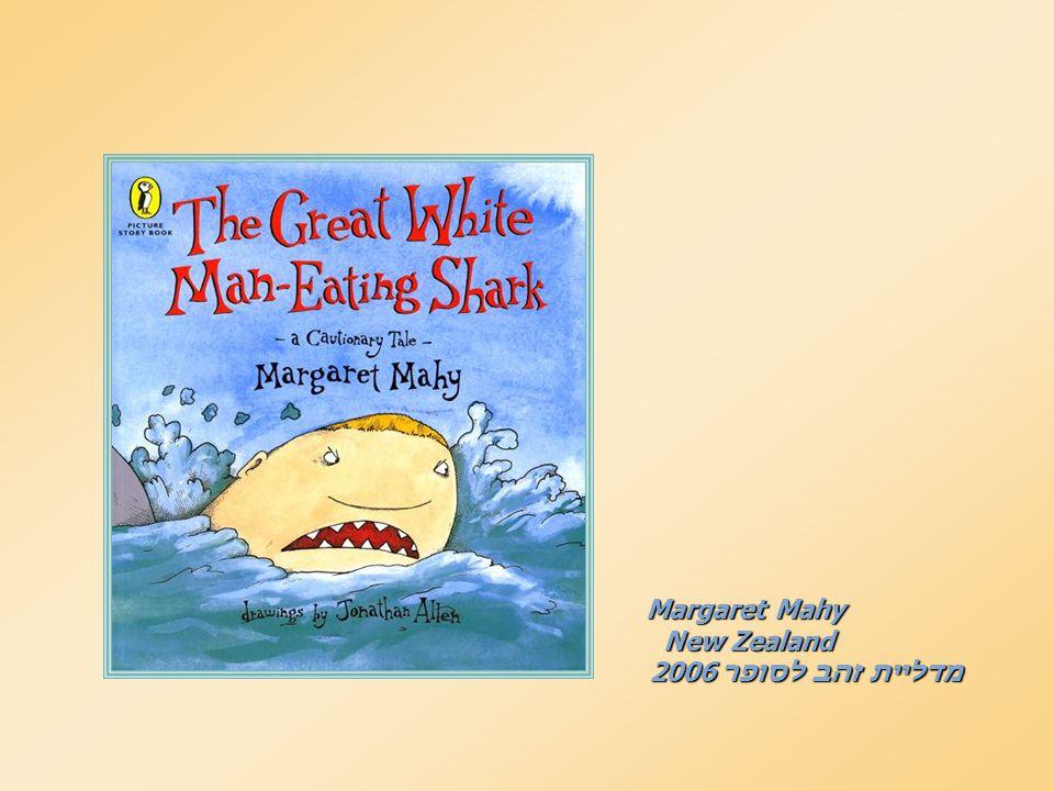 Margaret Mahy New Zealand New Zealand מדליית זהב לסופר 2006 מדליית זהב לסופר 2006
