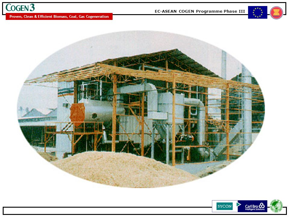 EC-ASEAN COGEN Programme Phase III Proven, Clean & Efficient Biomass, Coal, Gas Cogeneration