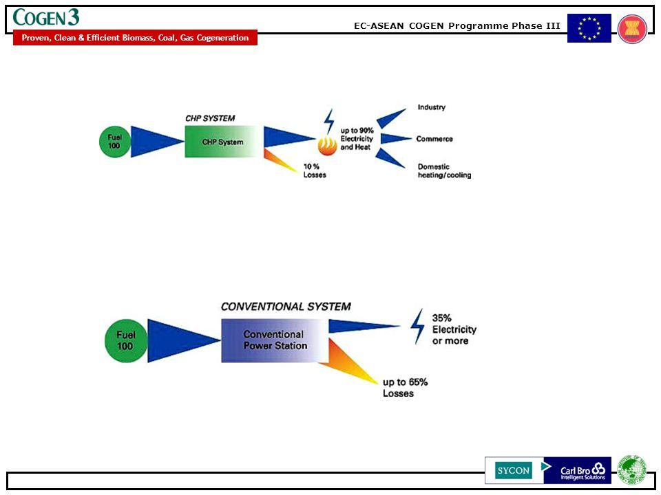 EC-ASEAN COGEN Programme Phase III Proven, Clean & Efficient Biomass, Coal, Gas Cogeneration