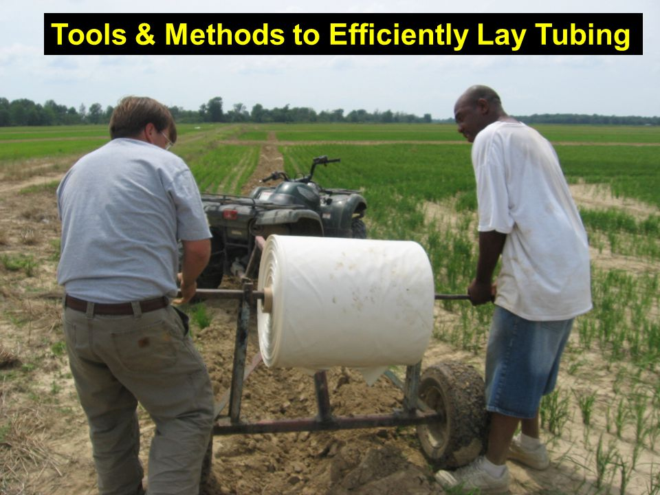 Tools & Methods to Efficiently Lay Tubing