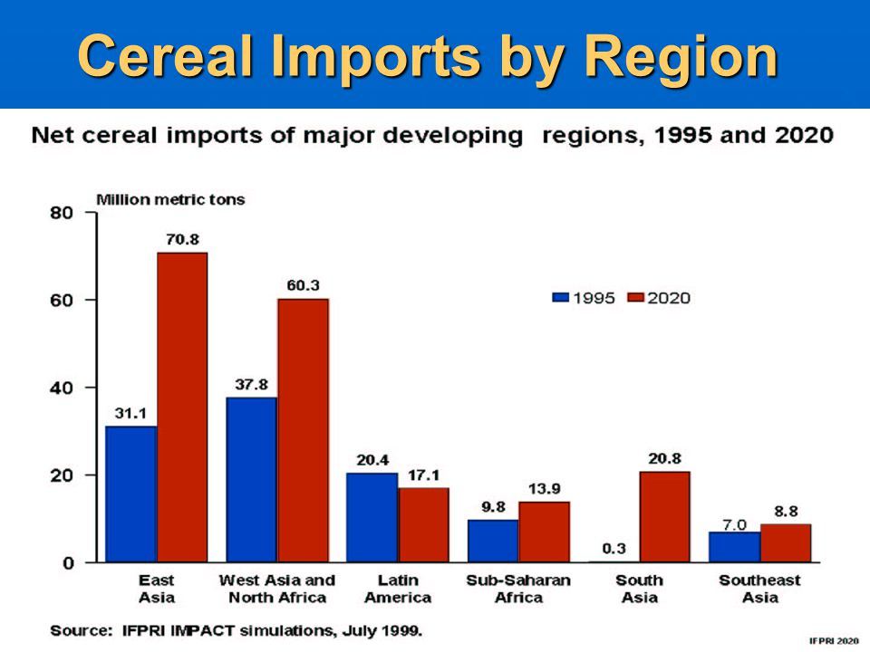Cereal Imports by Region