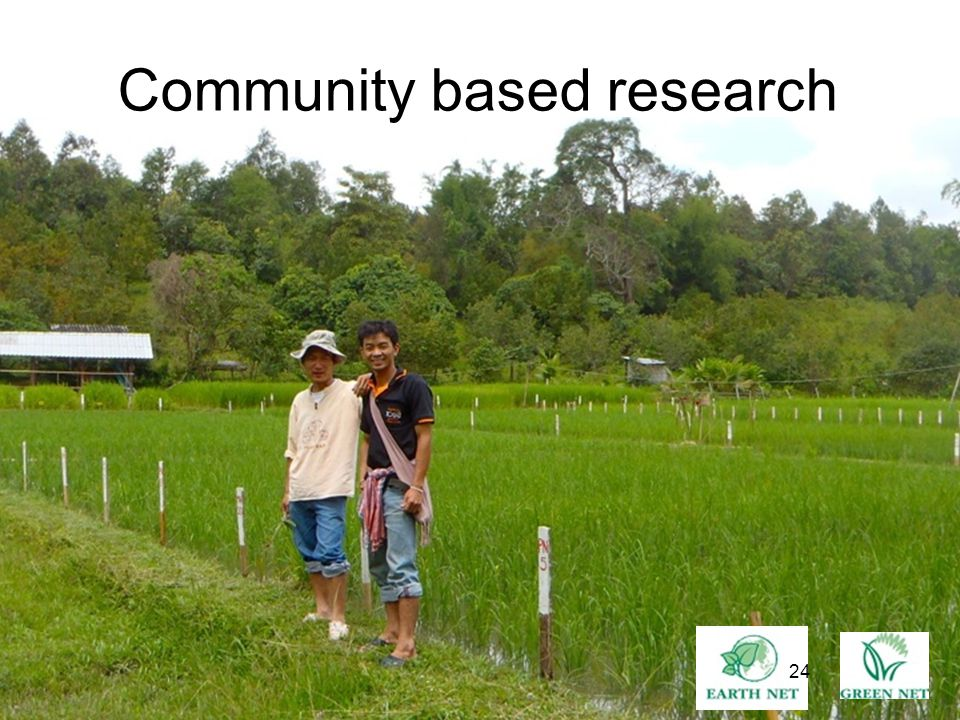 24 Community based research 24