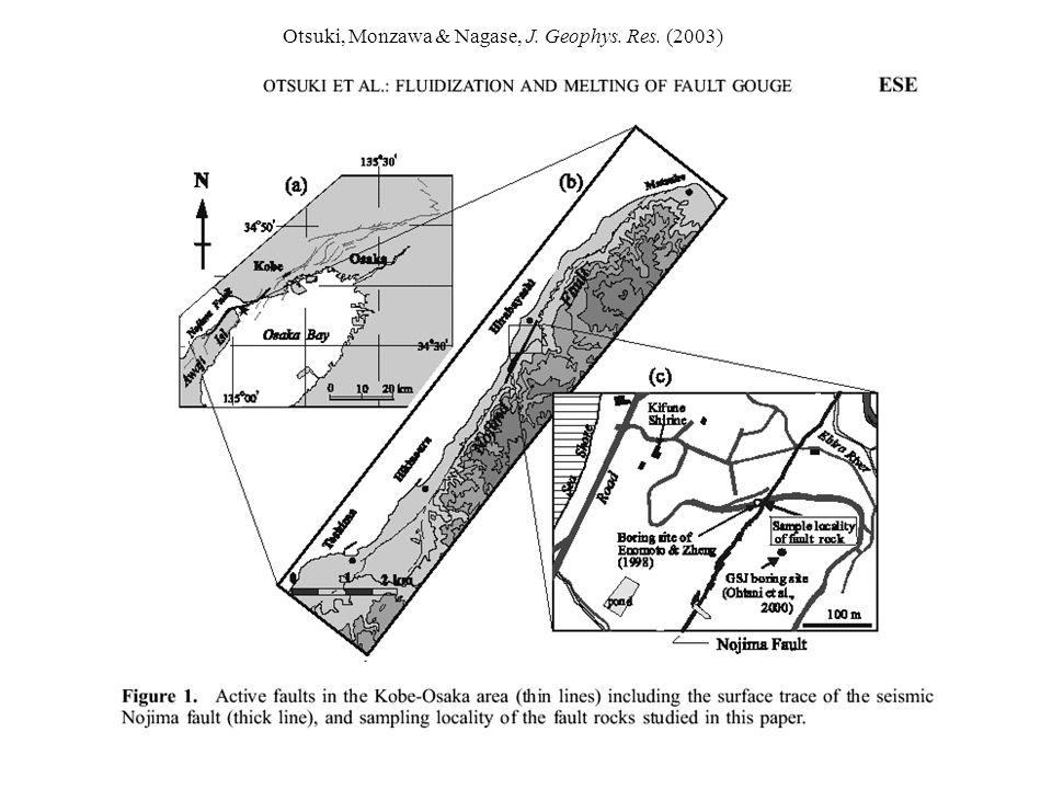 Otsuki, Monzawa & Nagase, J. Geophys. Res. (2003)