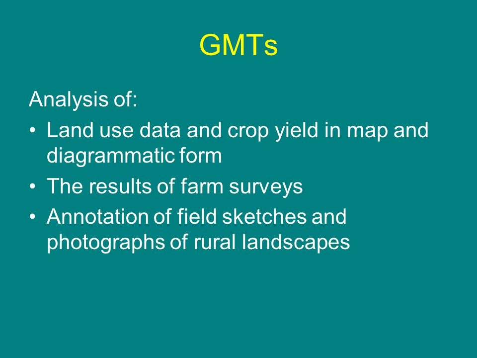Shifting Cultivation Characteristics Core Higher, Page 242, Diagram 8.18 Draw and annotate field sketch of typical single house settlement Remember the title