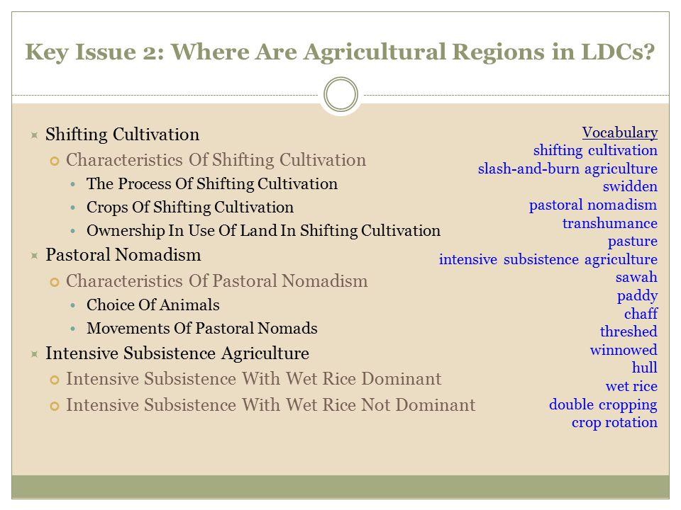  Shifting Cultivation Characteristics Of Shifting Cultivation The Process Of Shifting Cultivation Crops Of Shifting Cultivation Ownership In Use Of L