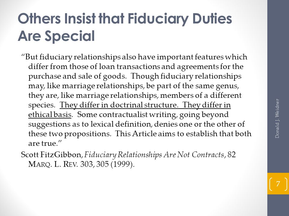 Agents as Fiduciaries (cont d) Agent has a duty to the principal to (cont d): Act with care, competence, and diligence normally exercised by agents in similar circumstances.